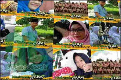 Satu lagi bingkai foto profil facebook yang sanggup digunakan oleh warga madrasah Bingkai Foto Profil FB Madrasah Hebat Bermartabat