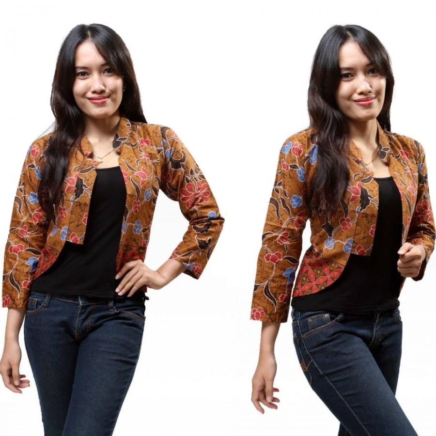 15 Cardigan Batik Wanita Modern 2019  99cebdf6c0