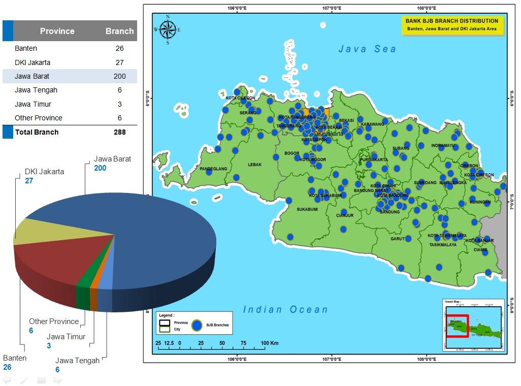 Dapur Peta: Bank Jabar (Banten, DKI dan Jabar area)