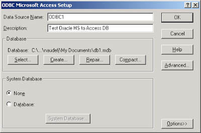 How to Connect MS-Access with Oracle Database