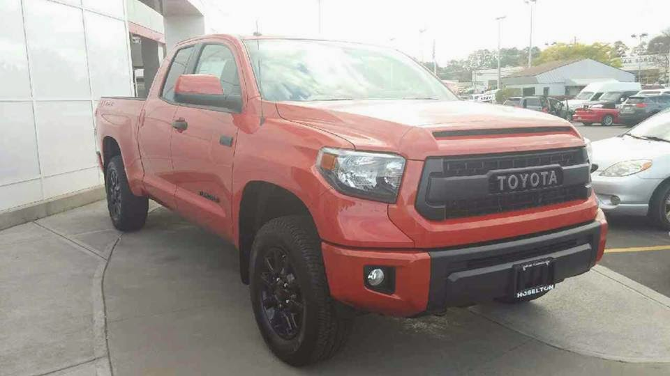 hoselton auto mall the new 2015 toyota tundra trd pro is here. Black Bedroom Furniture Sets. Home Design Ideas