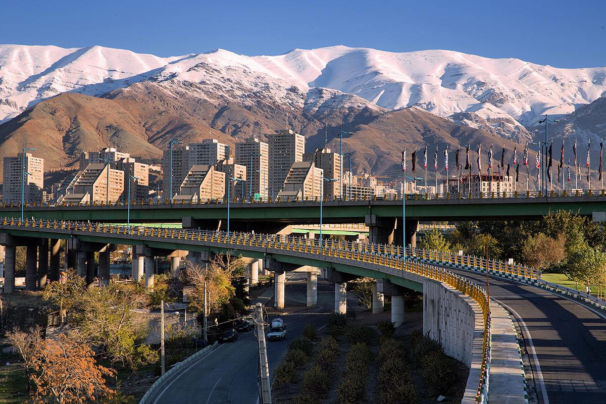Iran-Od Teheranu do Bandar-e-Anzali