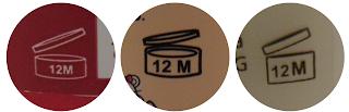 Impressão de PAO em Ampolas, quanto tempo depois de abertas elas podem ser usadas? Nos caso da imagem: 12 meses. Texto falando sobre a possibilidade de misturar ampolas com shampoo, condicionador e máscara
