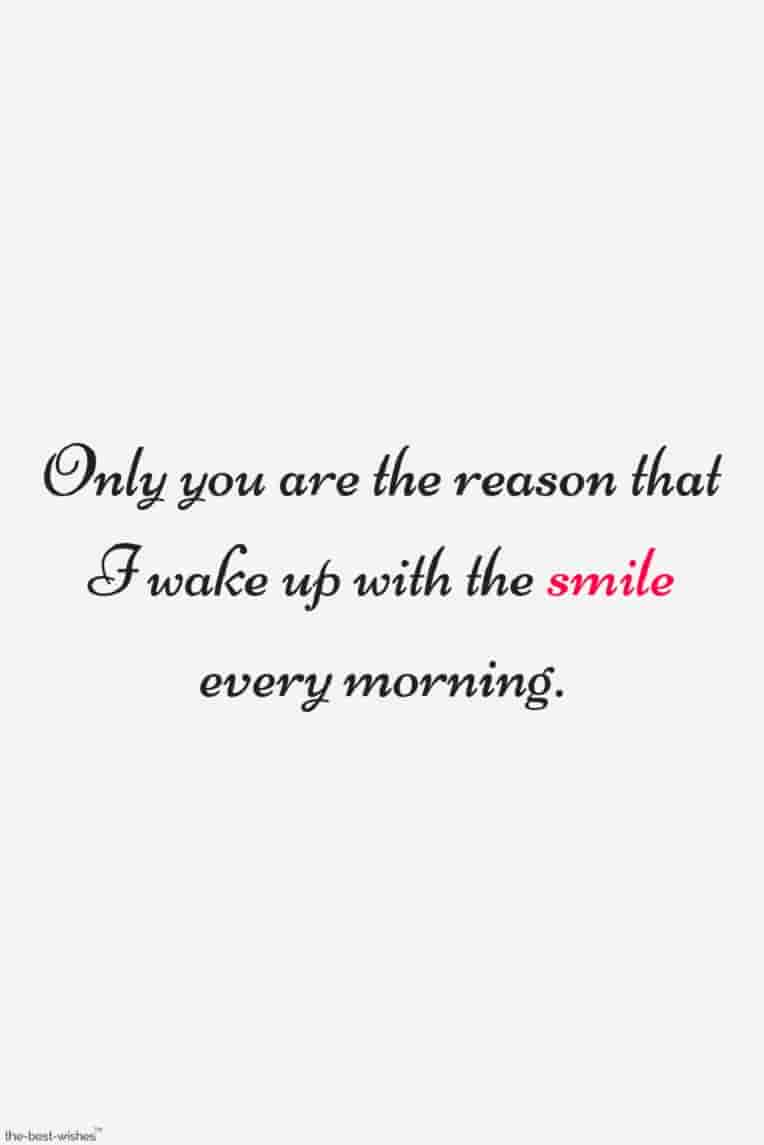 morning love quote for him