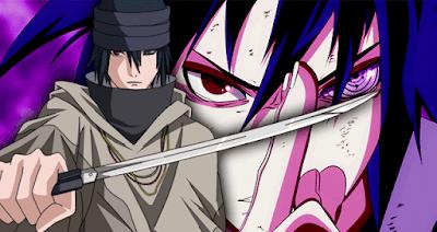 Mata Rinnegan milik Sasuke sedikit berbeda dengan mata Rinnegan yang selama ini pernah ad 4 Kemampuan Unik Rinnegan milik Sasuke Uchiha