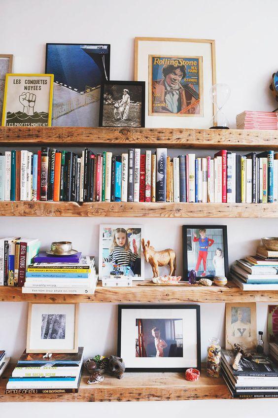 deco bibliotheque - blog deco boho