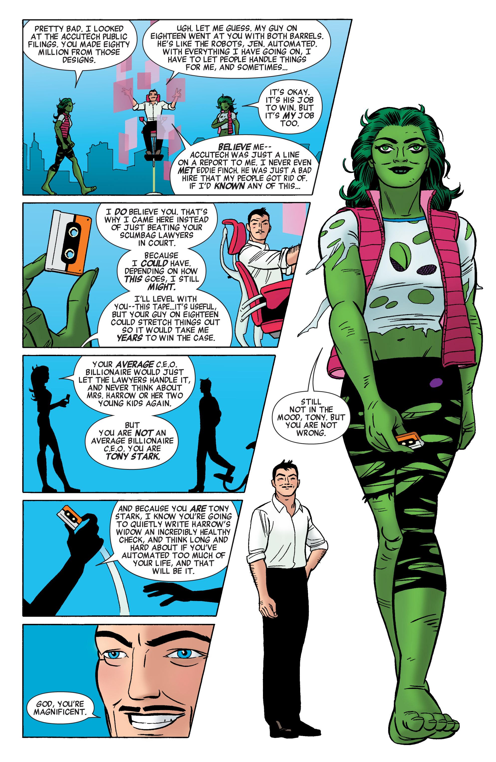 Read online She-Hulk (2014) comic -  Issue #1 - 18
