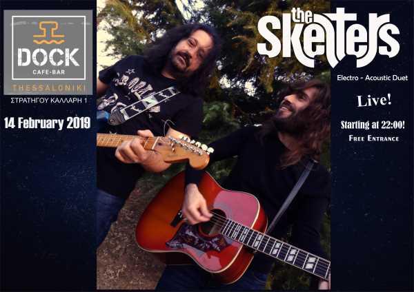 THE SKELTERS: Πέμπτη 14 Φεβρουαρίου unplugged @ Dock café bar