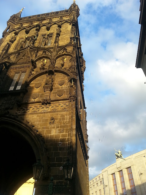 Praga, wieża Henryka