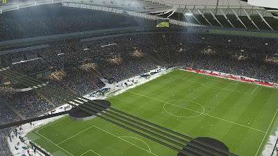 PES 2019 Etihad Stadium with Snow Mode by MjTs-140914