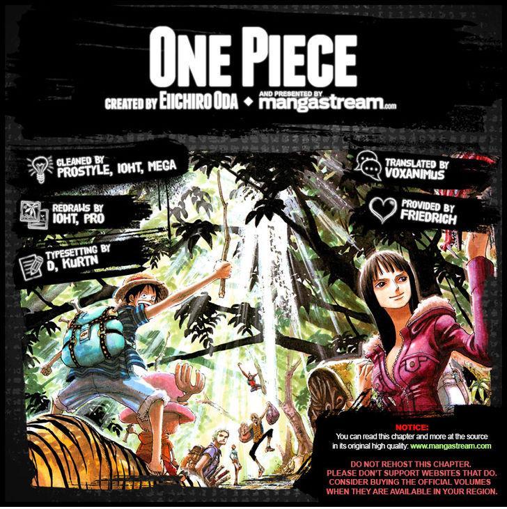 One Piece Ch.817 - Raizou of the Mist