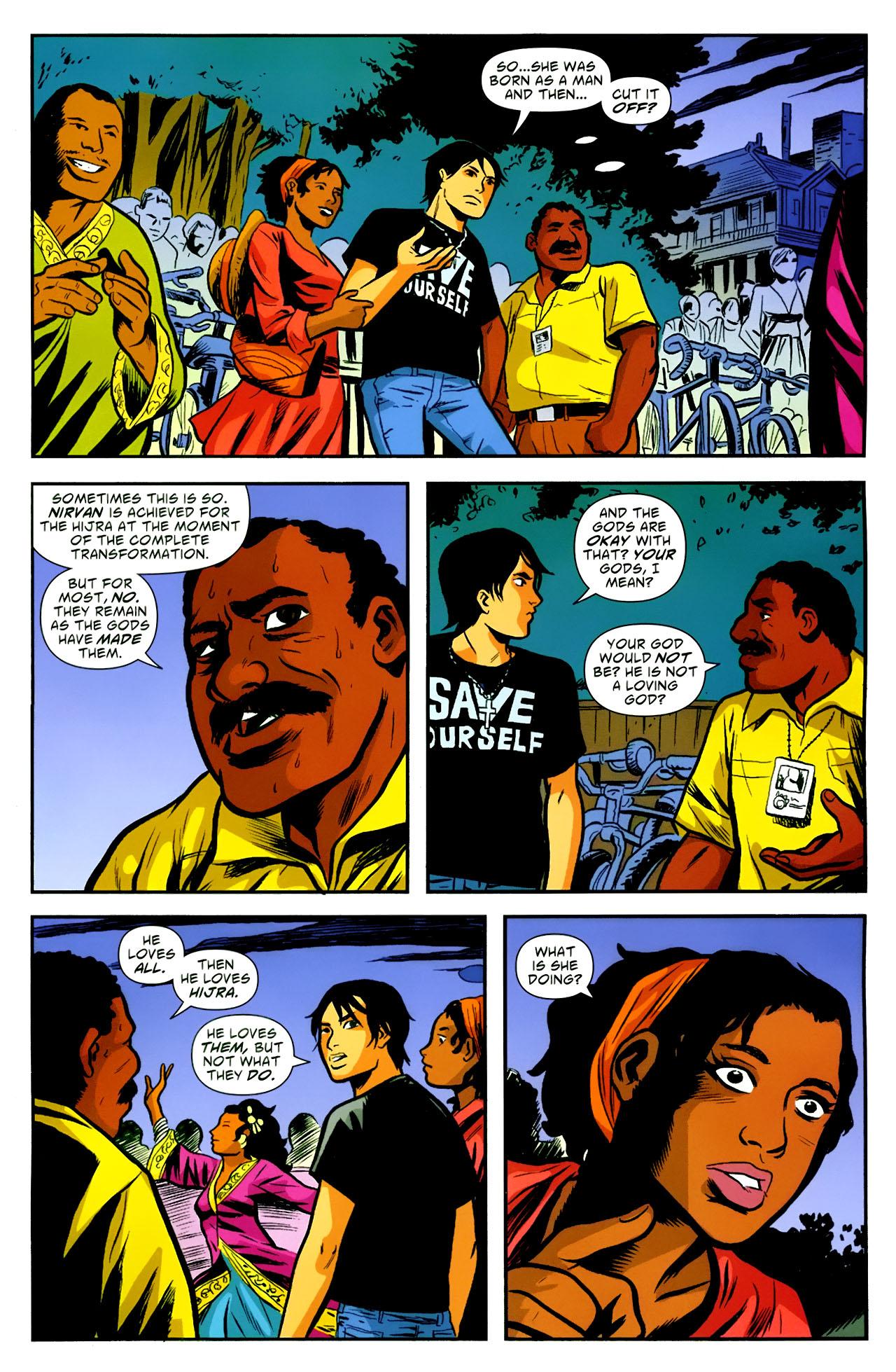 Read online American Virgin comic -  Issue #18 - 18