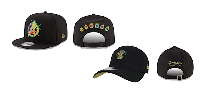 Avengers: Infinity War Snapback Hat Collection by New Era Cap x Marvel