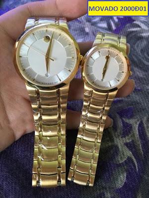 Đồng hồ cặp đôi Movado 2000Đ01
