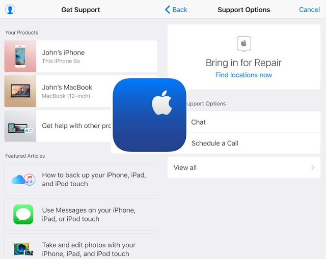 The official Apple Support app for iPhone and iPad is now available in additional countries. The app was was previously launched in the Netherlands and few other countries.