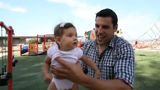 Milan Lucic With Child