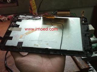 rangkaiaan lcd tablet pc treq A10G