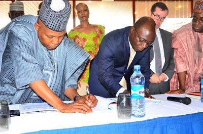 Photos: Northern Governors, General Electric International sign MOU for 5 power plants