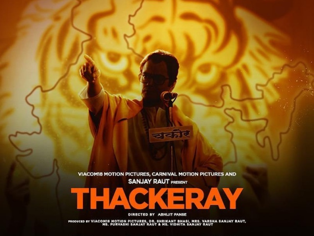 Thackeray Audio  HDRip 480p ESub x264