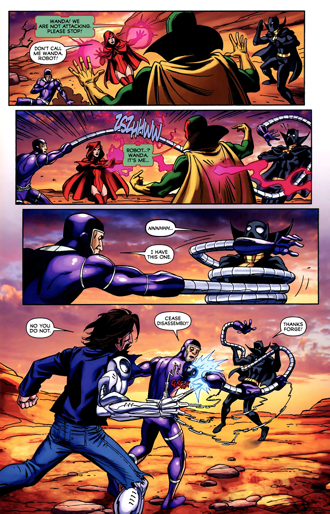Read online Exiles (2009) comic -  Issue #4 - 17