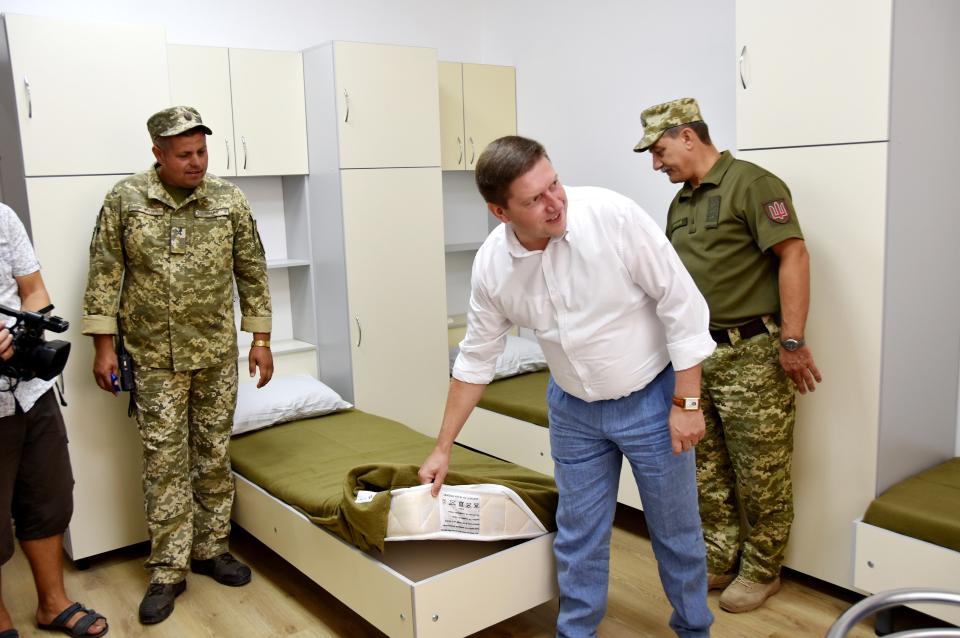 нова казарма Білгород-Дністровський
