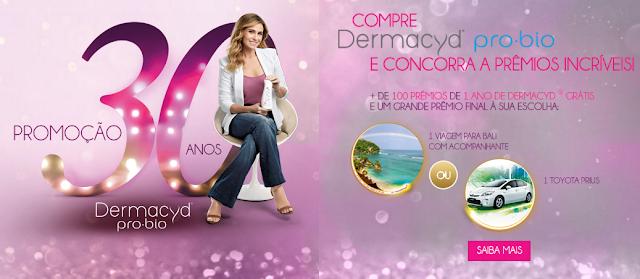Site oficial Dermacyd® 30 Anos