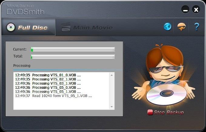 DVDSmith Movie Backup 1.08 - Αντιγράψτε τις αγαπημένες σας ταινίες