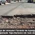 Após cobrança do vereador Flavinho de Açougue, prefeitura realiza Operação Tapa Buracos em ruas da Nova Sá