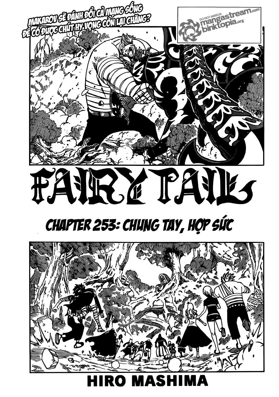 Fairy Tail chap 253 trang 1