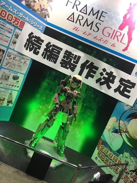 A través de su stand en el AnimeJapan 2018 nos llega la noticia de que habrá una segunda temporada para la adaptación televisiva anime de la línea de model kits Frame Arms Girls de Kotobukiya.