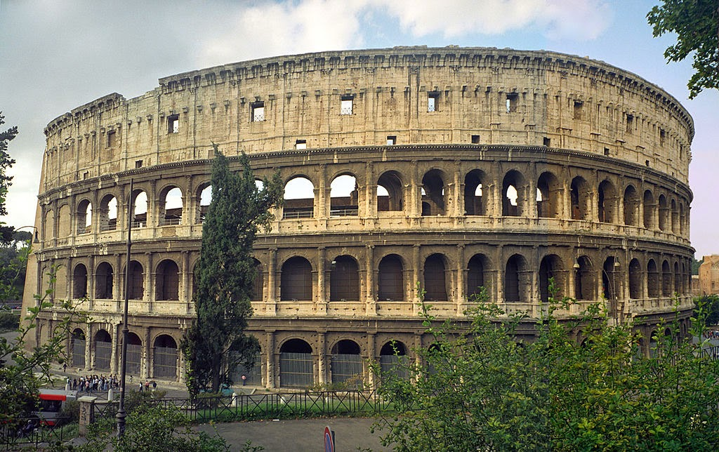 "THE COLOSSEUM ""ITALY (ROME)"""