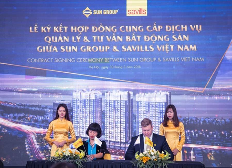Savills chính thức trở thành đơn vị quản lý Sun Grand City Ancora Residence