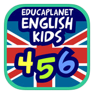 App aprender inglés ENGLISH 456 KIDS aprender inglés para niños Educaplanet