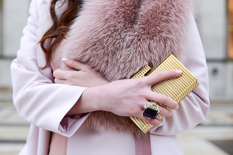 the best accessories during paris couture week {Cool Chic Style Fashion}