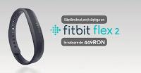 Castiga in fiecare saptamana o bratara Fitbit Flex 2