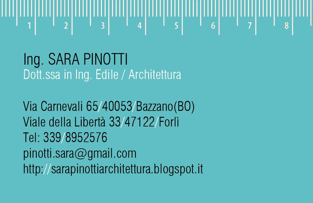 Preferenza Pinotti Sara Studio di Architettura: settembre 2012 ZE99