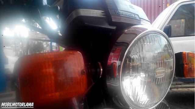 Lampu depan Binter GTO