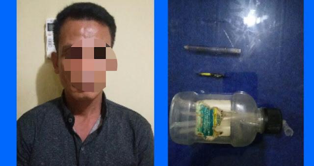 Hendak Konsumsi Narkoba, Anwar Ditangkap Kepolisian