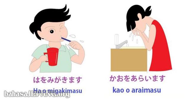 Kosakata Kegiatan Sehari Hari Mainichi No Seikatsu Dalam Bahasa