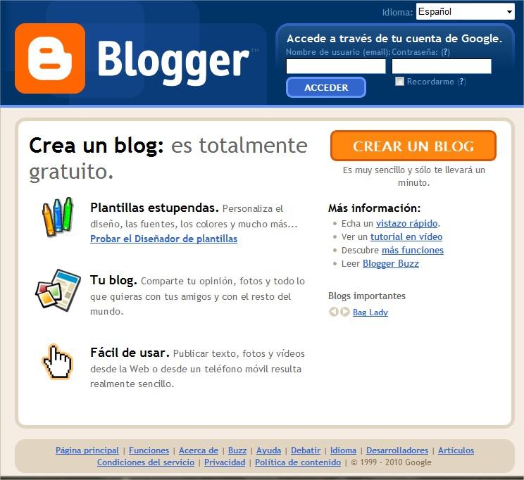 UPEL Informática para Gerentes: ¿Conoces los Blogs? ¿Qué