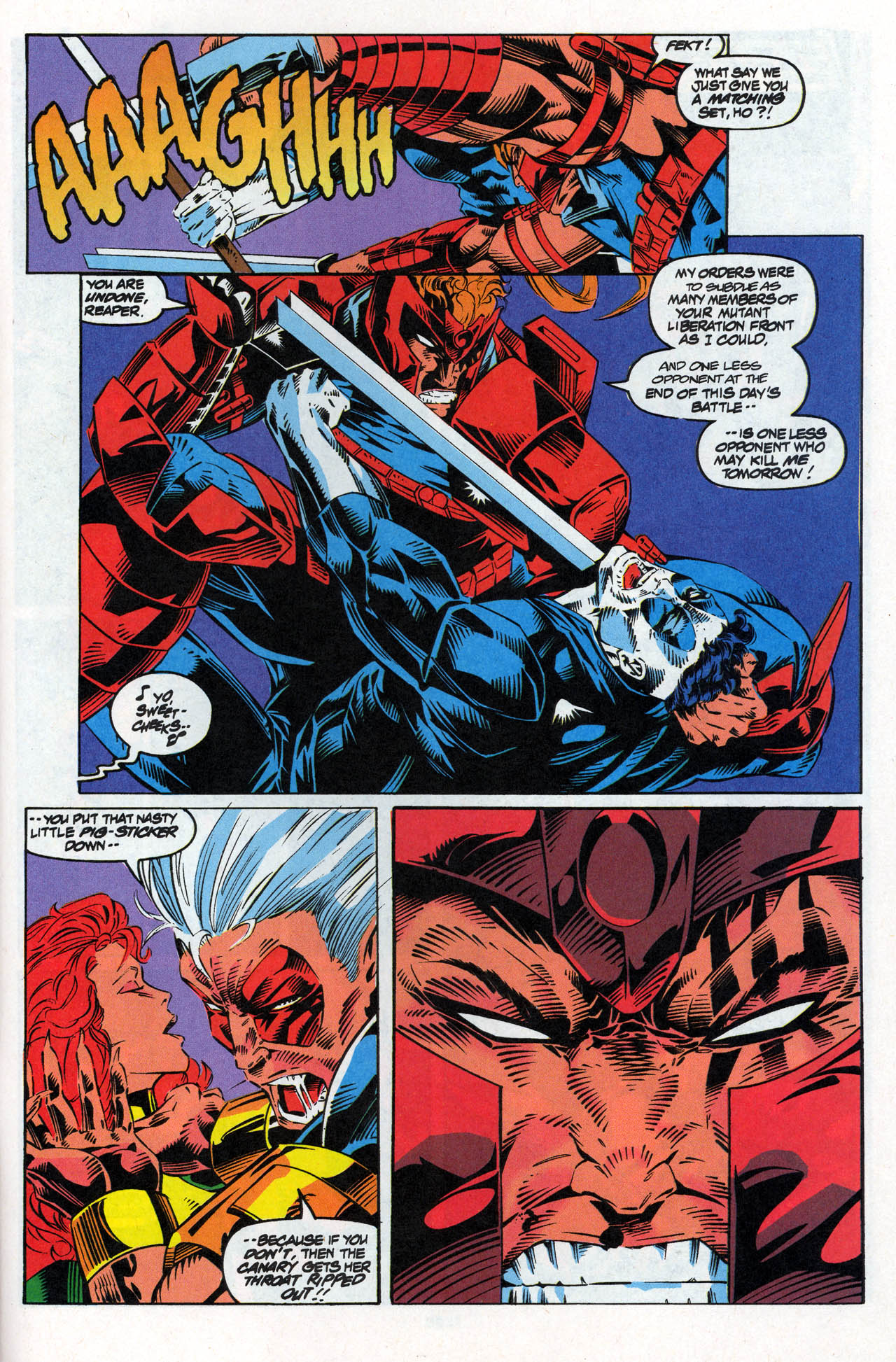 Read online X-Force (1991) comic -  Issue #27 - 29