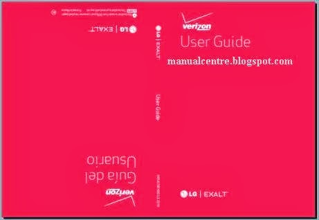 LG Exalt VN360 Manual Cover