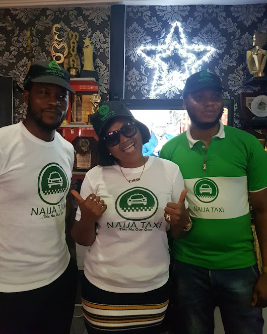 Yoruba Actress Mercy Aigbe Clinch Naija Taxi Endorsement Deal (Photos) - Exlink Lodge - Nigeria Entertainment, Politics & Celebrity News