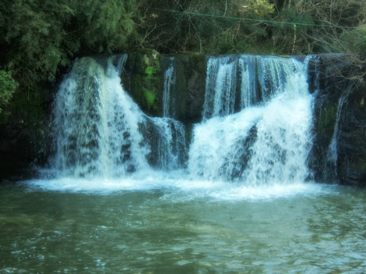 Cascata do Arroio Caraá, no Sítio Cascata da Borússia, Osório