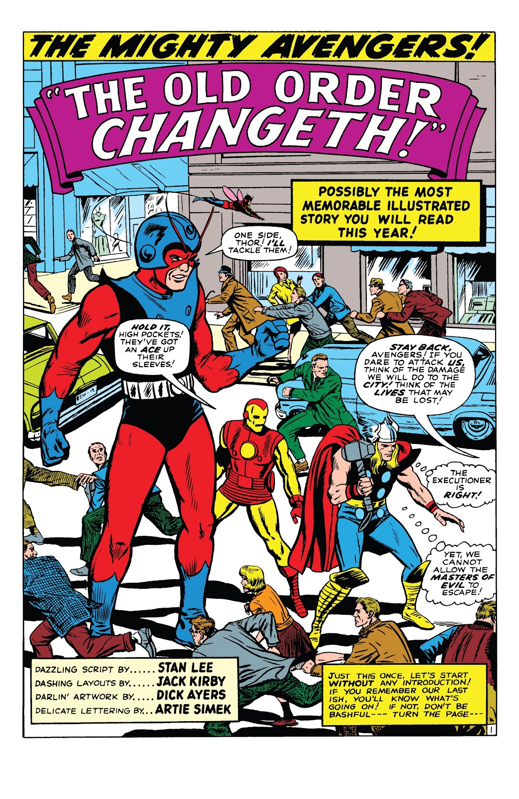 Read online Marvel Tales: Avengers comic -  Issue # Full - 6