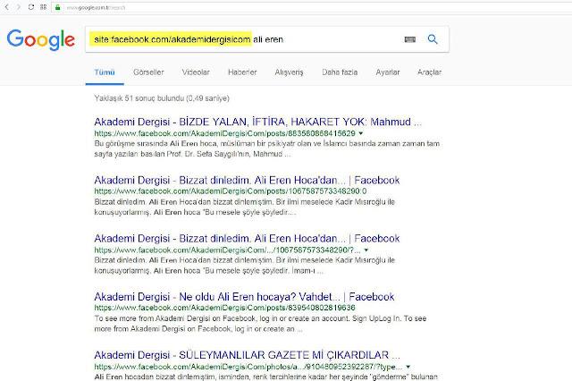 akademi dergisi, Mehmet Fahri Sertkaya, google, facebook, site, darbe tiyatrosu, darbe,