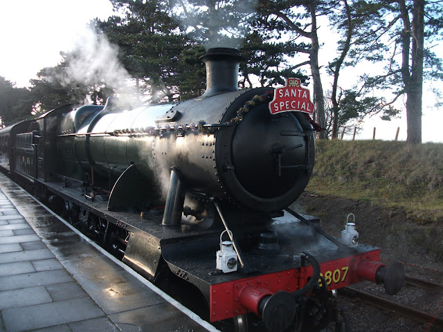 Cheltenham Santa Special Steam Train
