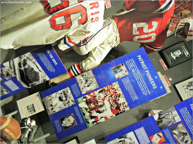 Colección Objetos Históricos de los New England Patriots