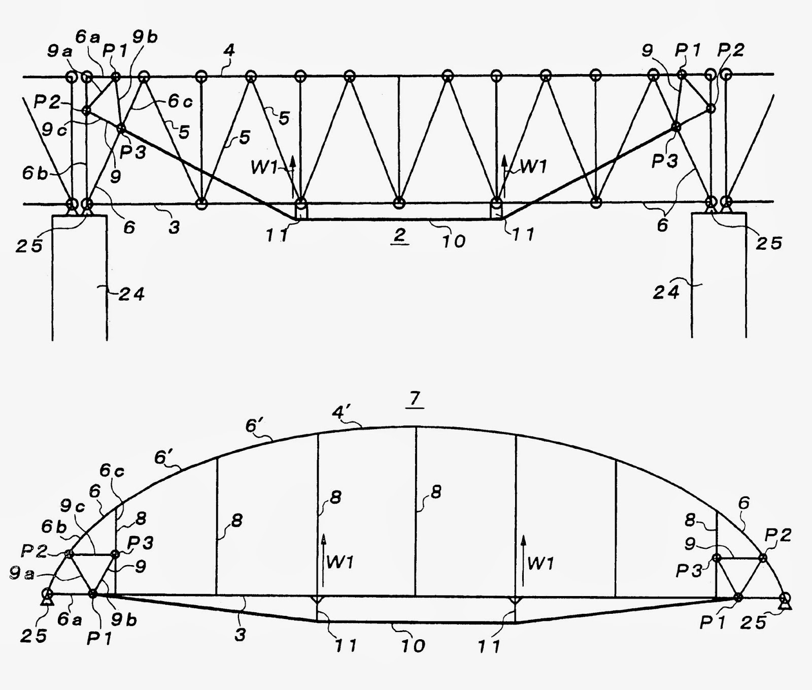 truss arch bridge combines the elements of the truss bridge