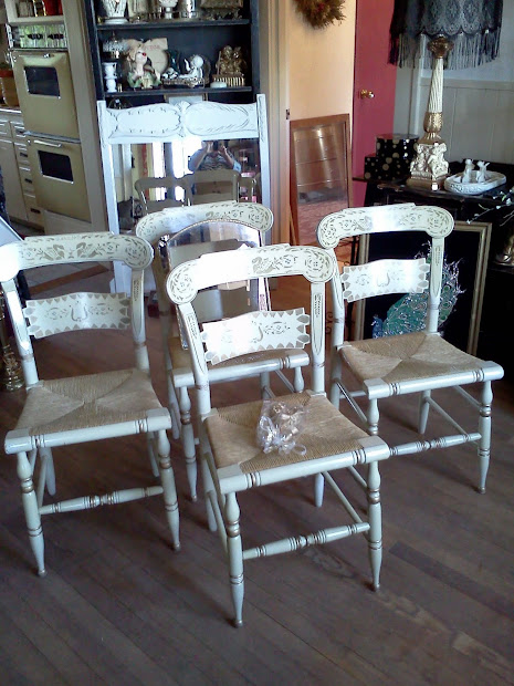 Maryland House Antiques Ethan Allen Vintage Hitchcock Chairs